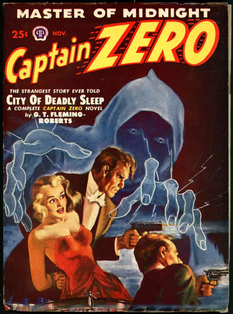 CAPTAIN ZERO. 1949 CAPTAIN ZERO. November, No. 1 Volume 1.