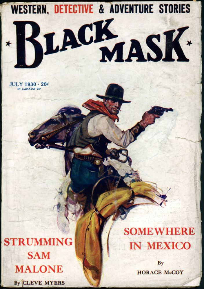 BLACK MASK. BLACK MASK. July 1930. . Joseph Shaw, No. 5 Volume 13.
