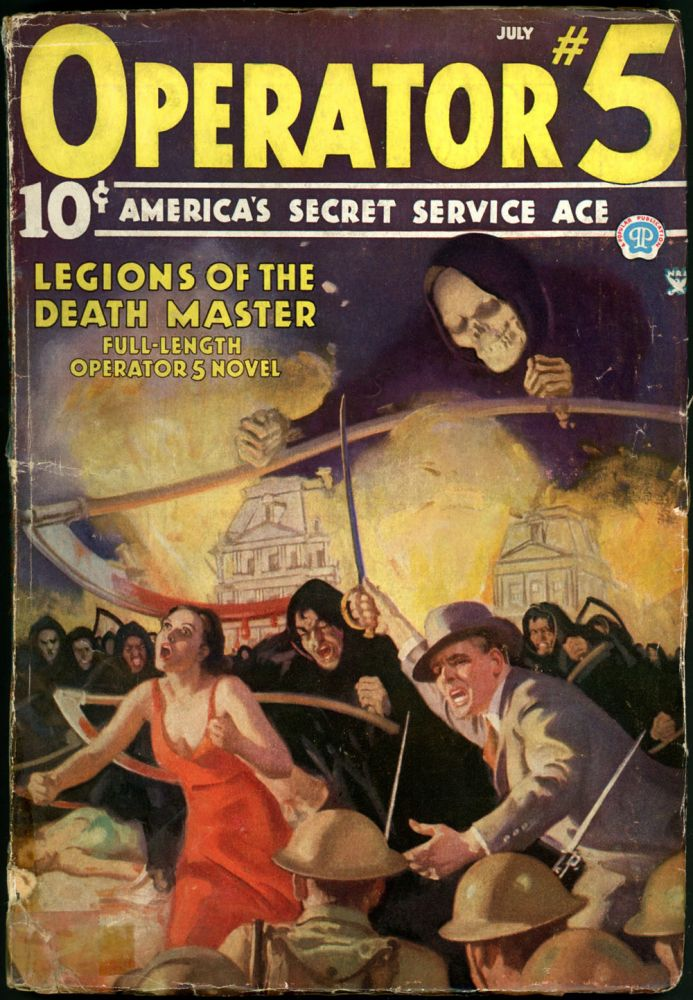 OPERATOR #5. OPERATOR #5. July 1935, No. 4 Volume 4.