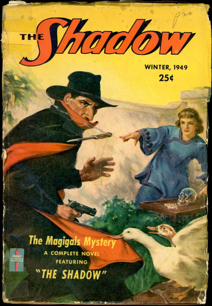 THE SHADOW. THE SHADOW. Winter 1949, No. 5 Volume 54.