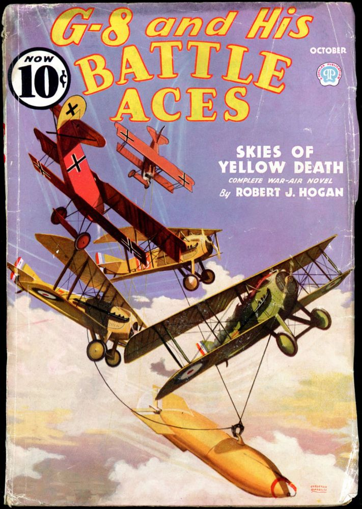 G-8 and HIS BATTLE ACES. G-8, HIS BATTLE ACES. October 1936, No. 1 Volume 10.