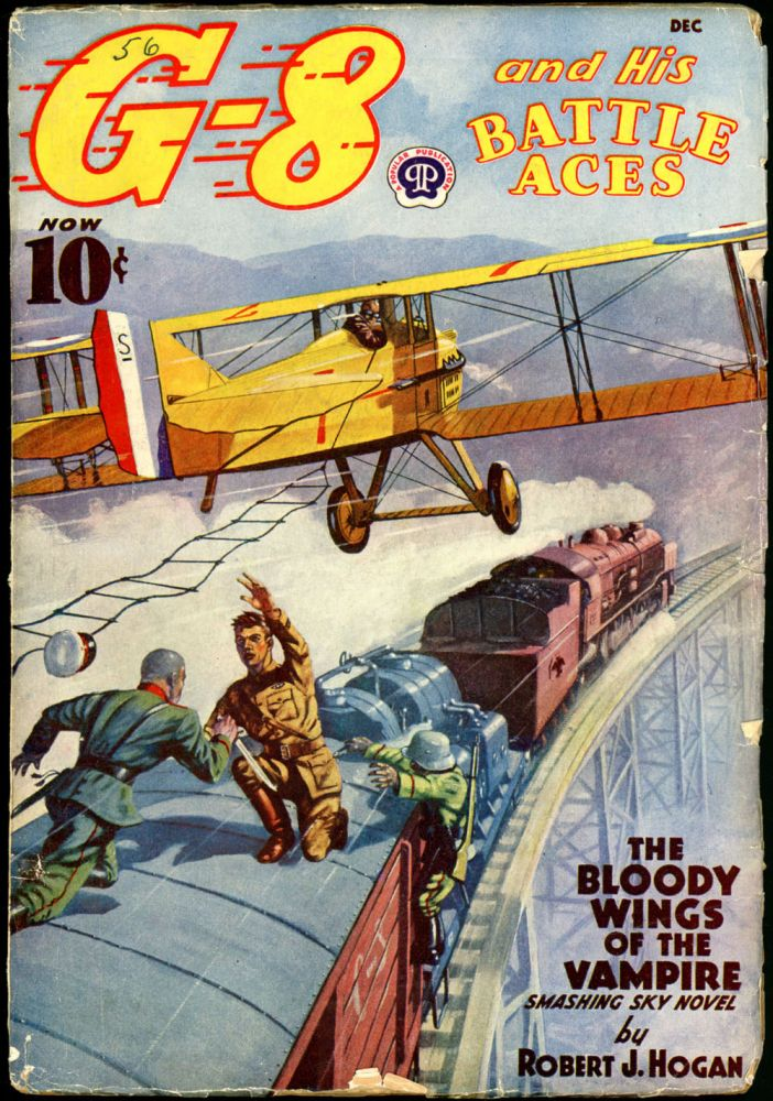 G-8 and HIS BATTLE ACES. G-8, HIS BATTLE ACES. December 1938, No. 3 Volume 16.