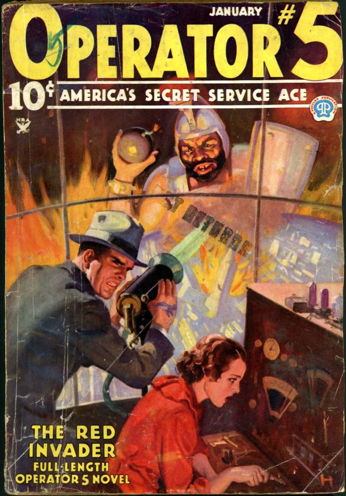 OPERATOR #5. OPERATOR #5. January 1935, No. 2 Volume 3.