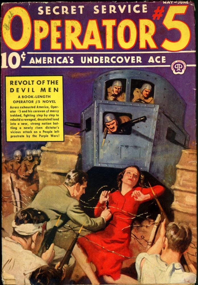 OPERATOR #5. OPERATOR #5. May-June 1938, No. 3 Volume10.