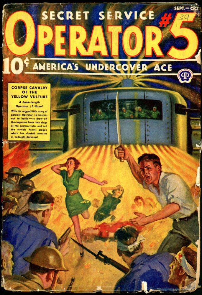 OPERATOR #5. OPERATOR #5. September-October 1939, No. 3 Volume 12.