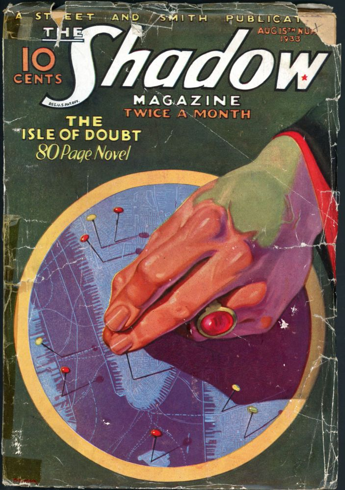 THE SHADOW. 1933 THE SHADOW. August 15, # 1 Volume 7.