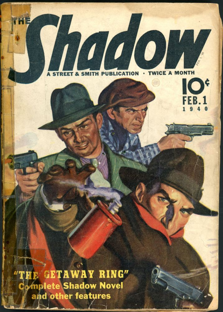 THE SHADOW. 1940 THE SHADOW. February 1, Volume 32 No. 5.