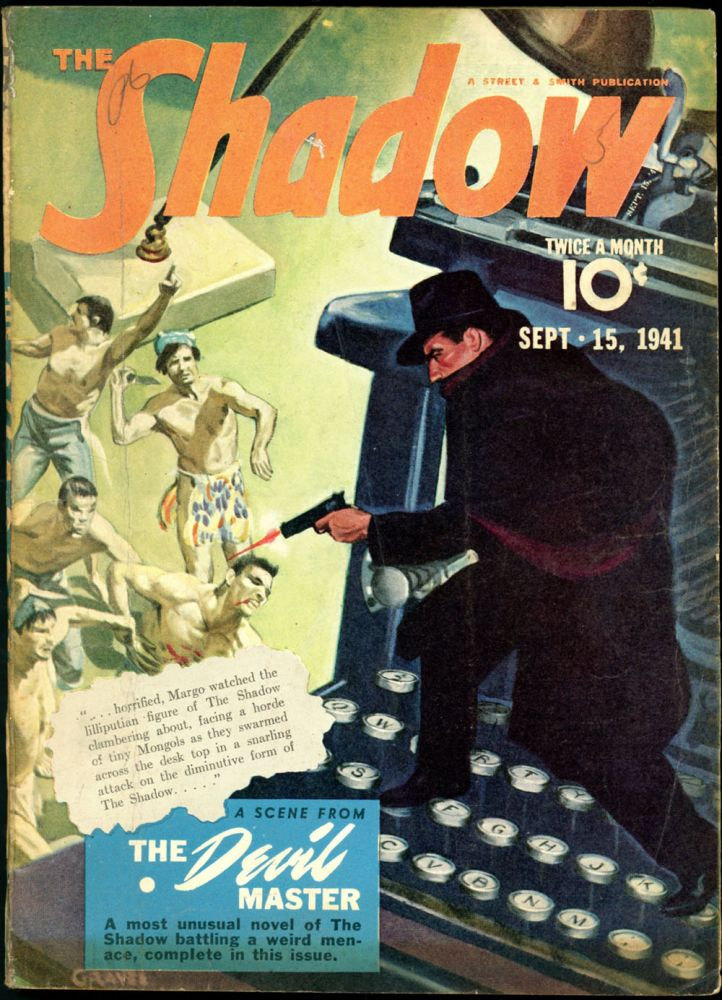THE SHADOW. 1941 THE SHADOW. September 15, Volume 39 No. 2.