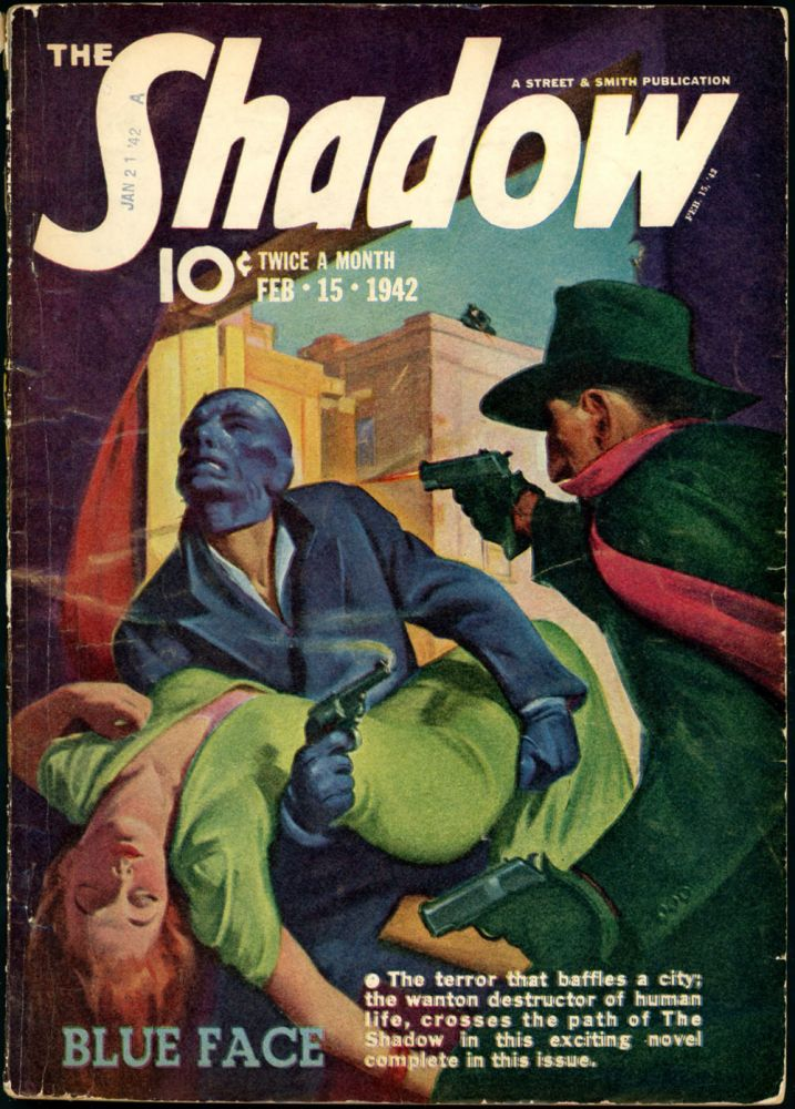 THE SHADOW. 1942 THE SHADOW. February 15, Volume 40 No. 6.