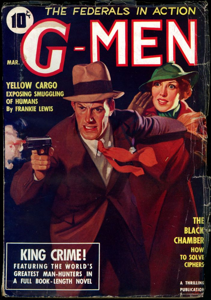 G-MEN. 1936 G-MEN. March, No. 3 Volume 2.