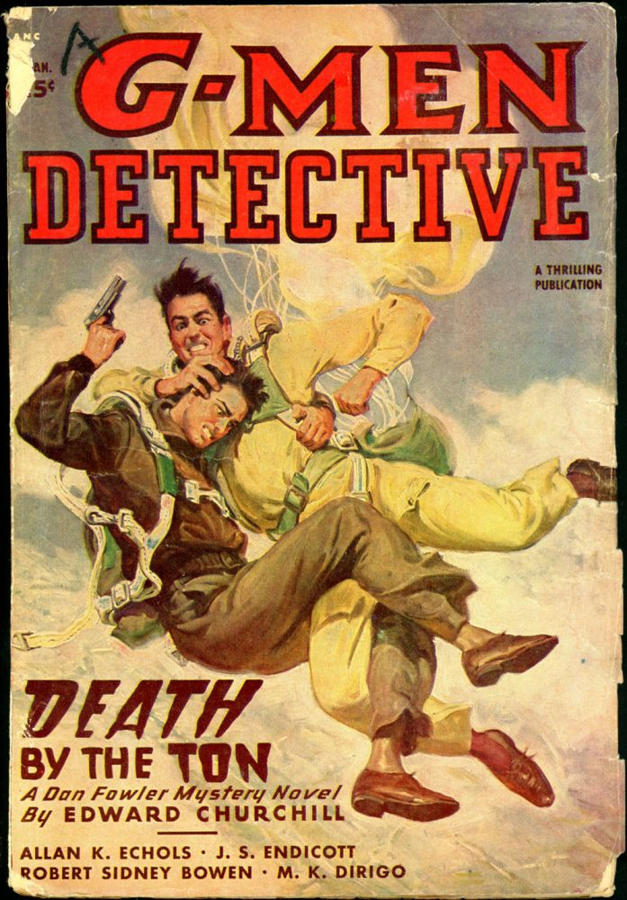 G-MEN DETECTIVE. 1936 G-MEN. March, No. 3 Volume 2.