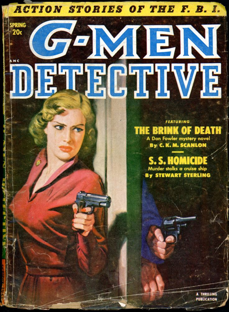 G-MEN DETECTIVE. 1951 G-MEN. Spring, No. 1 Volume 38.