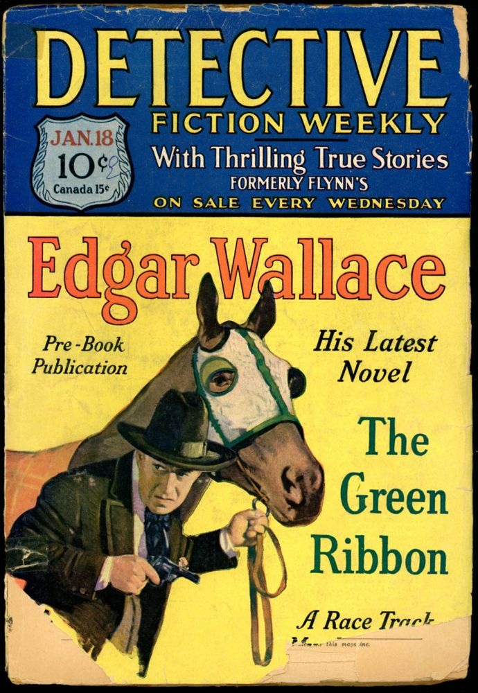 DETECTIVE FICTION WEEKLY. 1930 DETECTIVE FICTION WEEKLY. January 18, No. 2 Volume 47.