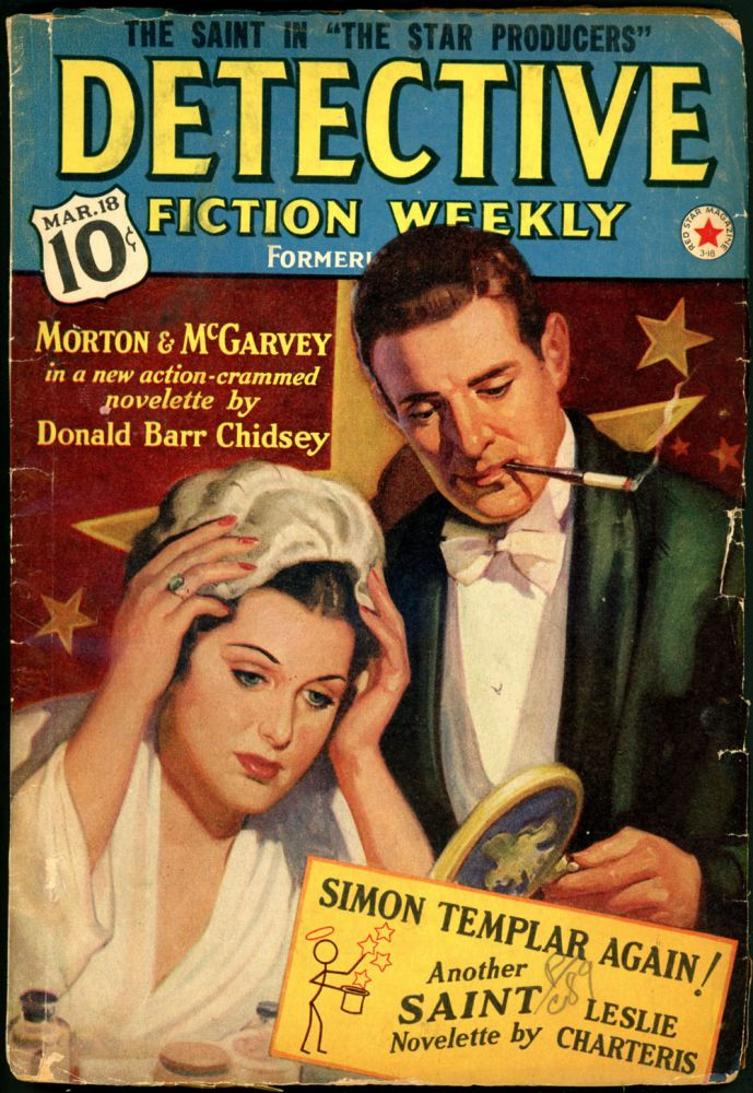 DETECTIVE FICTION WEEKLY. 1939 DETECTIVE FICTION WEEKLY. March 18, No. 6 Volume 126.