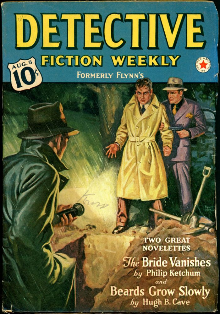 DETECTIVE FICTION WEEKLY. 1939 DETECTIVE FICTION WEEKLY. August 5, No. 2 Volume 130.