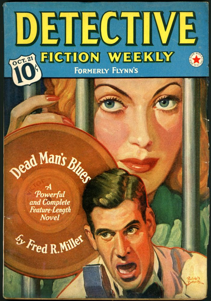DETECTIVE FICTION WEEKLY. 1939 DETECTIVE FICTION WEEKLY. October 21, No. 1 Volume 132.