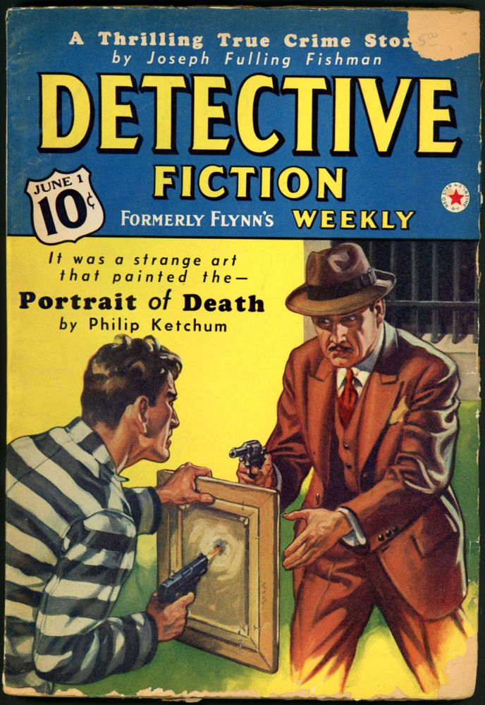 DETECTIVE FICTION WEEKLY. 1940 DETECTIVE FICTION WEEKLY. June 1, No. 3 Volume 137.