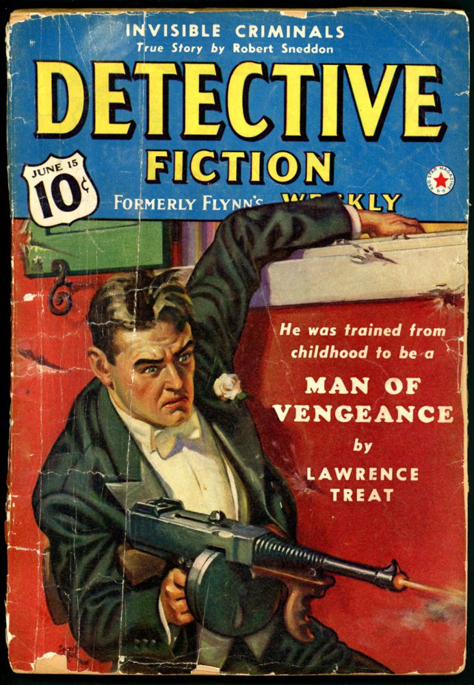 DETECTIVE FICTION WEEKLY. 1940 DETECTIVE FICTION WEEKLY. June 15, No. 5 Volume 137.