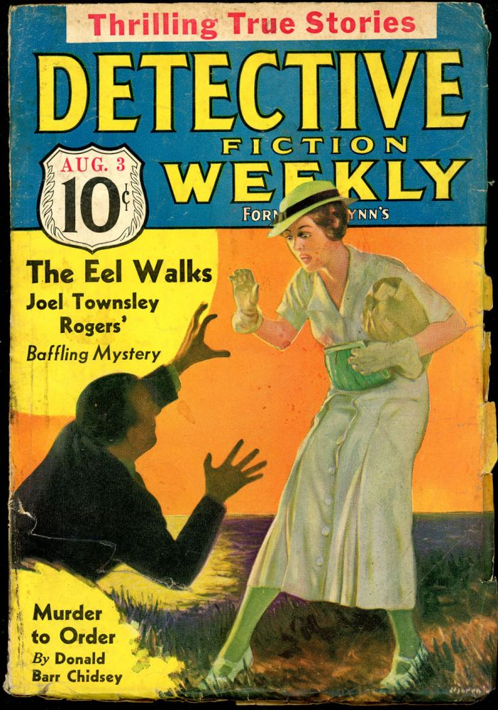 DETECTIVE FICTION WEEKLY. 1935 DETECTIVE FICTION WEEKLY. August 3, No. 3 Volume 95.