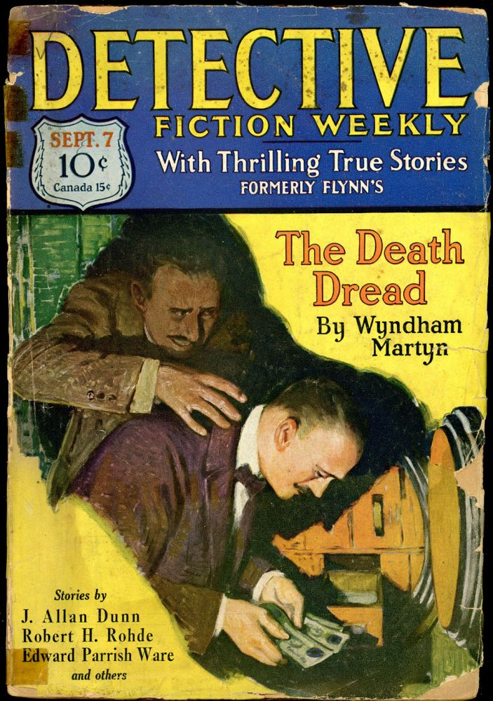 DETECTIVE FICTION WEEKLY. 1929 DETECTIVE FICTION WEEKLY. September 7, No. 2 Volume 44.