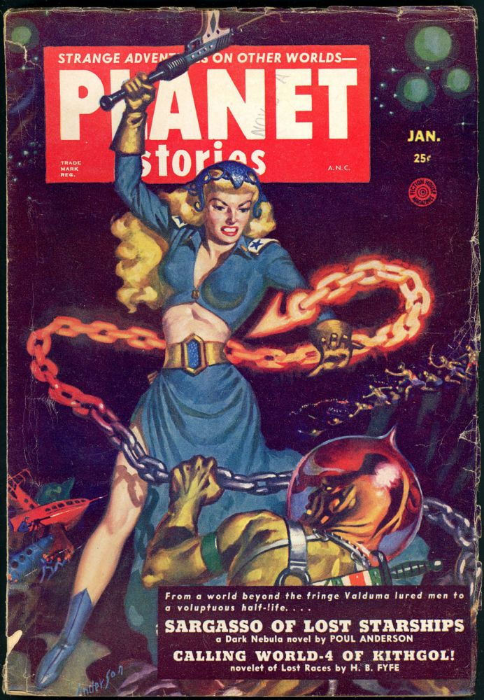 PLANET STORIES. 1952 PLANET STORIES. January, No. 4 Volume 5.