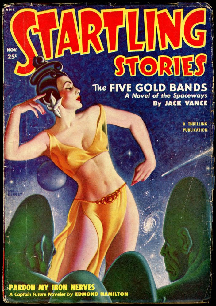 STARTLING STORIES. JACK VANCE. L. RON HUBBARD, 1950 STARTLING STORIES. November, #2 Volume 22.