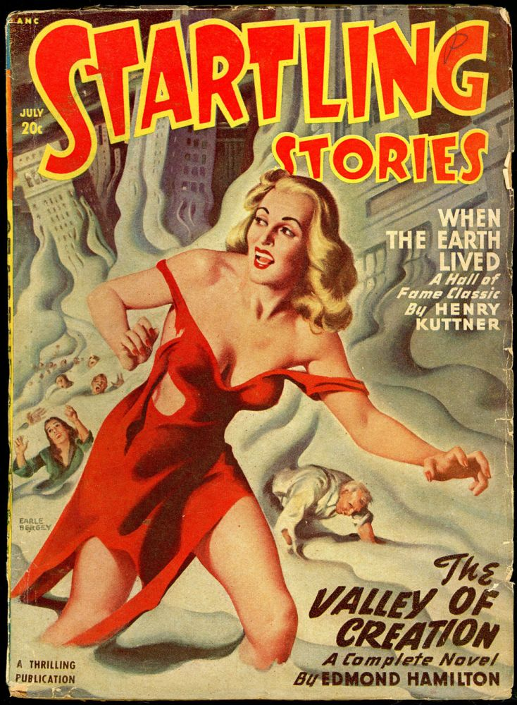 STARTLING STORIES. JACK VANCE. L. RON HUBBARD, 1948 STARTLING STORIES. July, No. 3 Volume 17.