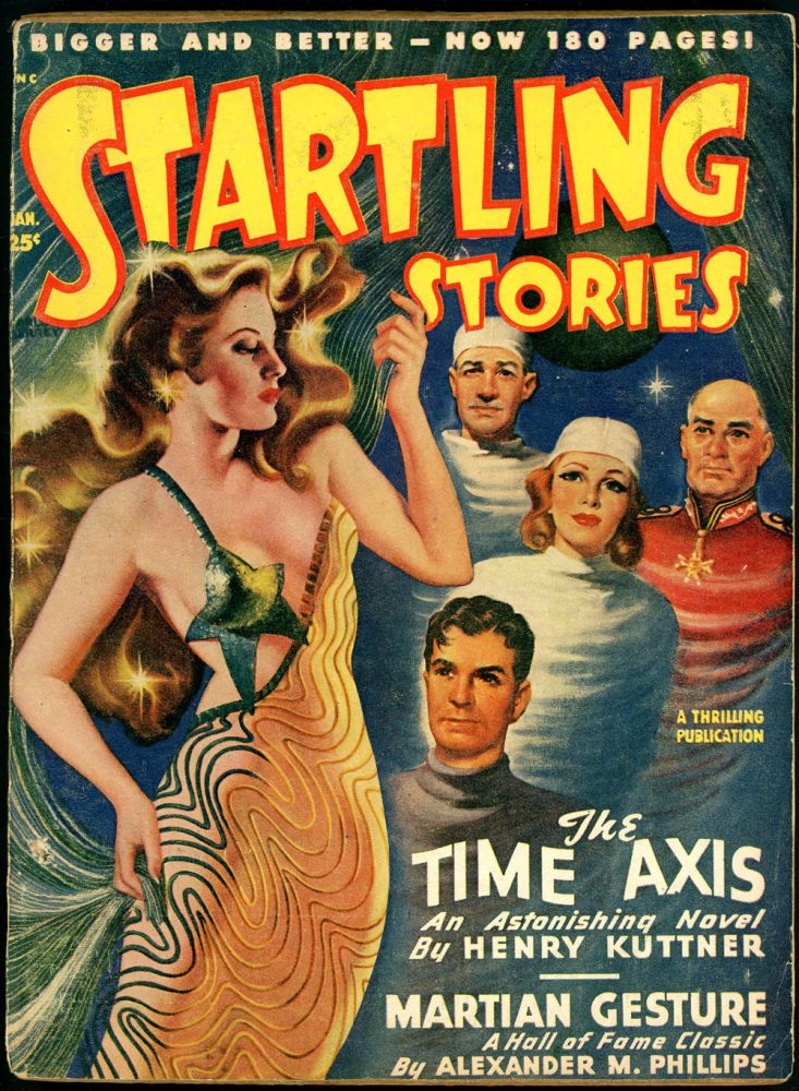 STARTLING STORIES. JACK VANCE. L. RON HUBBARD, 1949 STARTLING STORIES. January, #3 Volume 18.