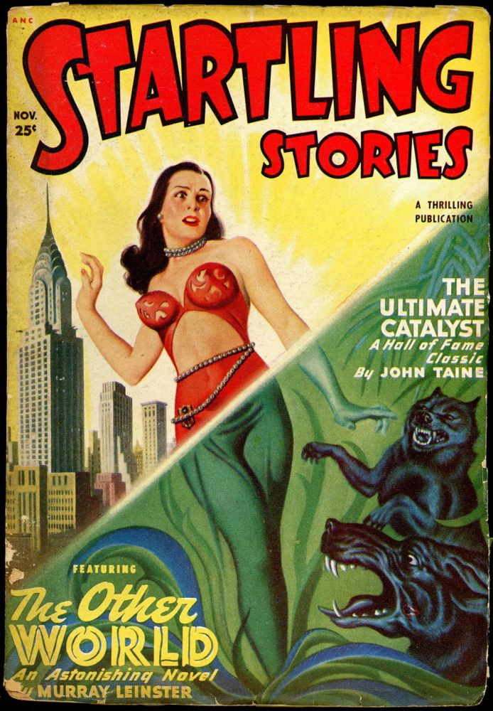 STARTLING STORIES. JACK VANCE. L. RON HUBBARD, 1949 STARTLING STORIES. November, #2 Volume 20.