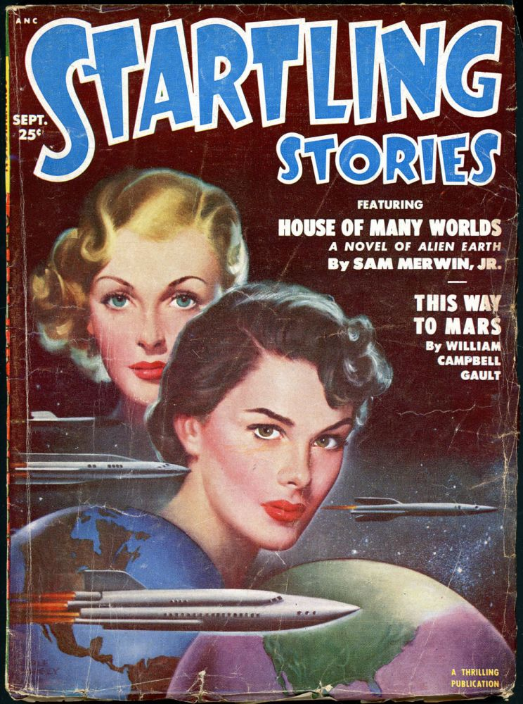 STARTLING STORIES. JACK VANCE, 1951 STARTLING STORIES. September, No. 1 Volume 24.