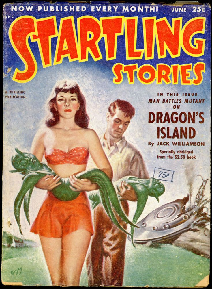 STARTLING STORIES. JACK VANCE, 1952. . Samuel Mines STARTLING STORIES. June, ed, #2 Volume 26.