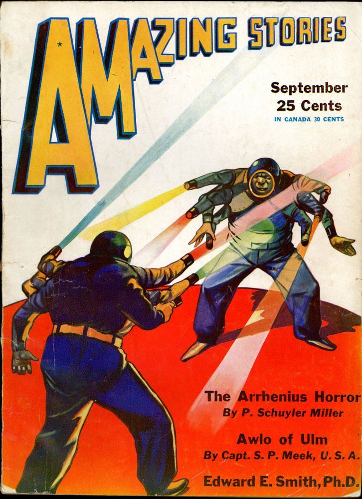 AMAZING STORIES. AMAZING STORIES. September 1931. ., T. O'Connor Sloane, No. 6 Volume 6.