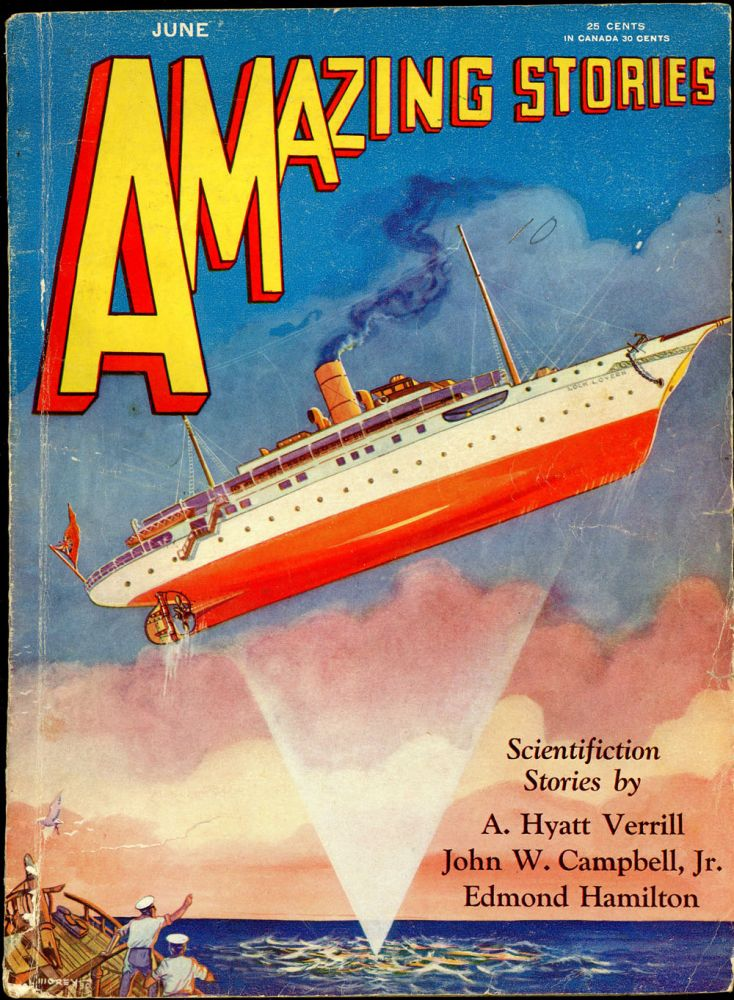 AMAZING STORIES. AMAZING STORIES. June 1930. ., T. O'Connor Sloane, No. 3 Volume 5.