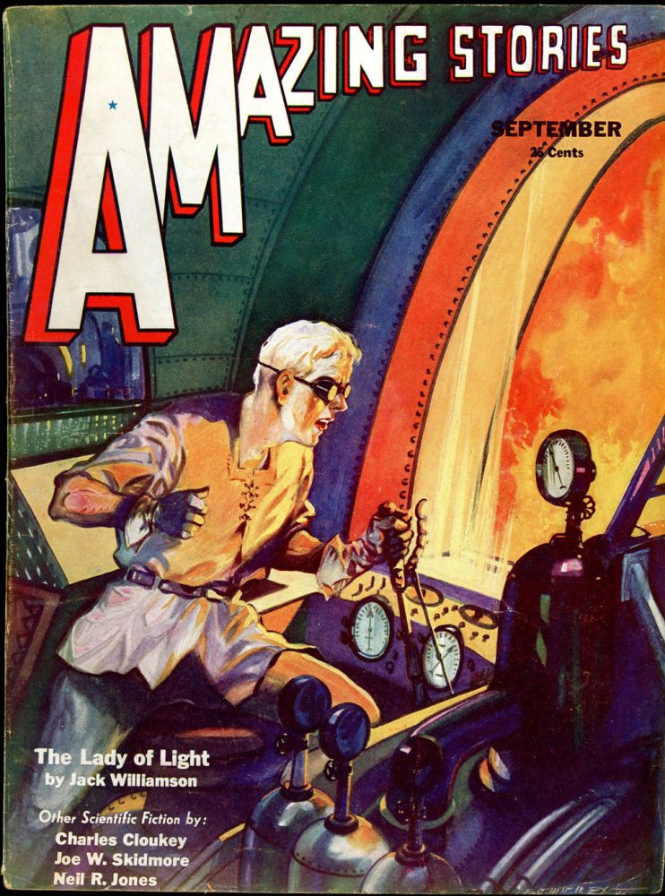 AMAZING STORIES. AMAZING STORIES. September 1932. ., T. O'Connor Sloane, No. 6 Volume 7.