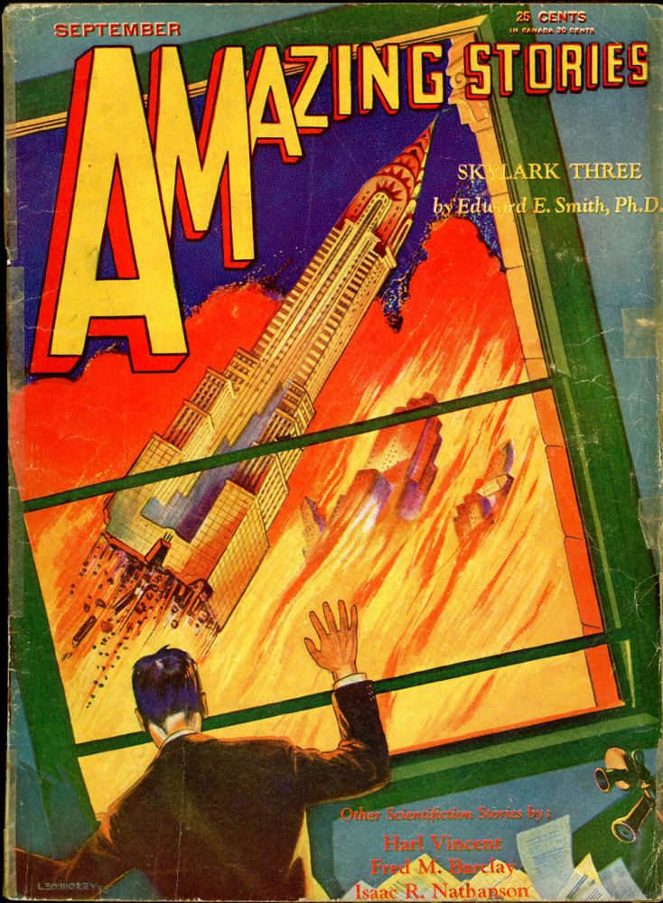 AMAZING STORIES. AMAZING STORIES. September 1930., No. 6. Vol. 5, T. O'Connor Sloane.
