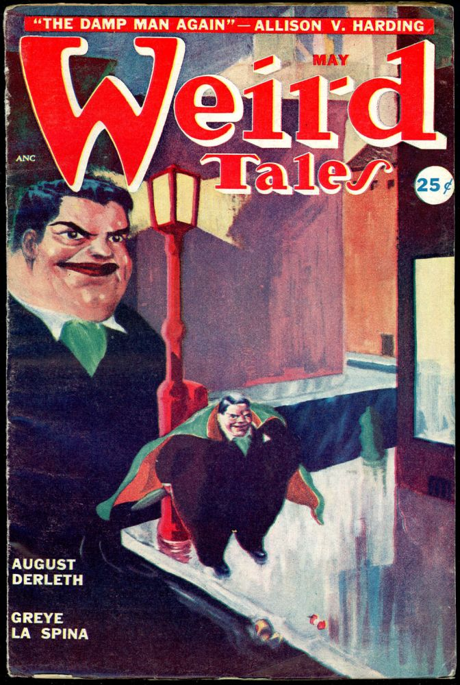 WEIRD TALES. WEIRD TALES. May 1949. . Dorothy McIlwraith, No. 4 Volume 41.