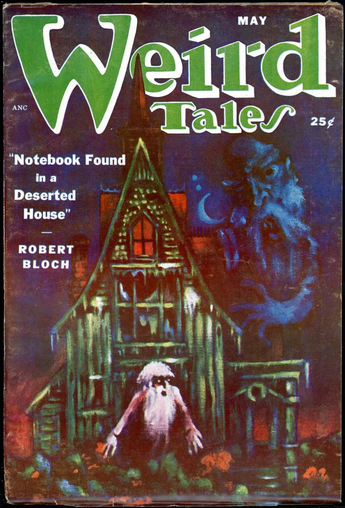 WEIRD TALES. WEIRD TALES. May 1951. . Dorothy McIlwraith, No. 4 Volume 43.