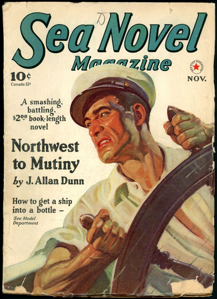 SEA NOVEL MAGAZINE. SEA NOVEL MAGAZINE. November 1940., No. 1 Volume 1.