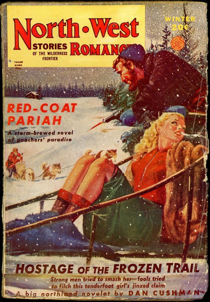 NORTH WEST ROMANCES. NORTH WEST ROMANCES. Winter 1946. . Jack O'Sullivan, No. 11 Volume 15.