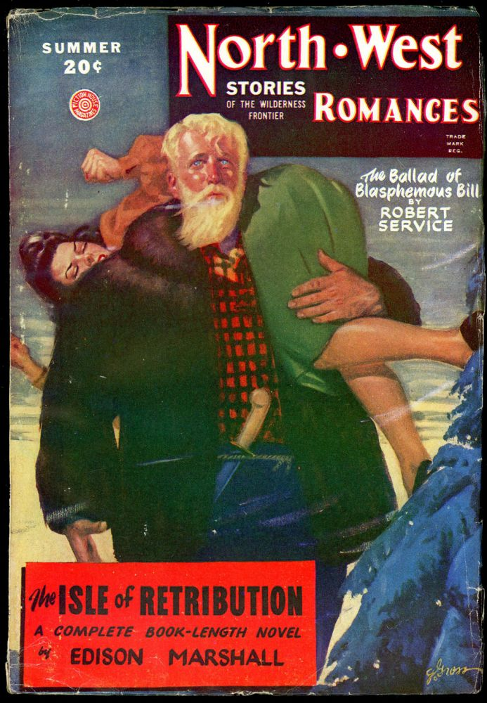 NORTH WEST ROMANCES. NORTH WEST ROMANCES. Summer 1947. . Jack O'Sullivan, No. 1 Volume 16.