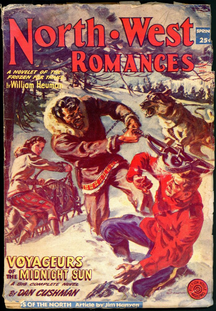 NORTH WEST ROMANCES. NORTH WEST ROMANCES. Spring 1953. . Jack O'Sullivan, No. 10 Volume 17.