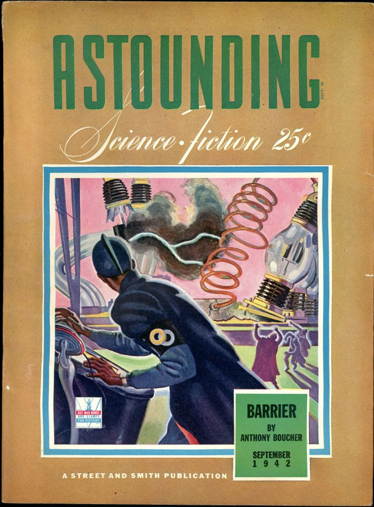 ASTOUNDING SCIENCE FICTION. ASTOUNDING SCIENCE FICTION. September 1942. . John W. Campbell Jr, No. 1 Volume 30.