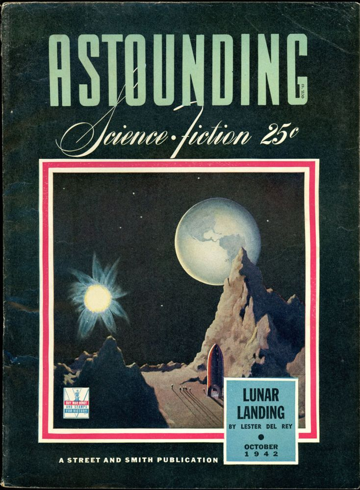 ASTOUNDING SCIENCE FICTION. ASTOUNDING SCIENCE FICTION. October 1942. . John W. Campbell Jr, No. 2 Volume 30.