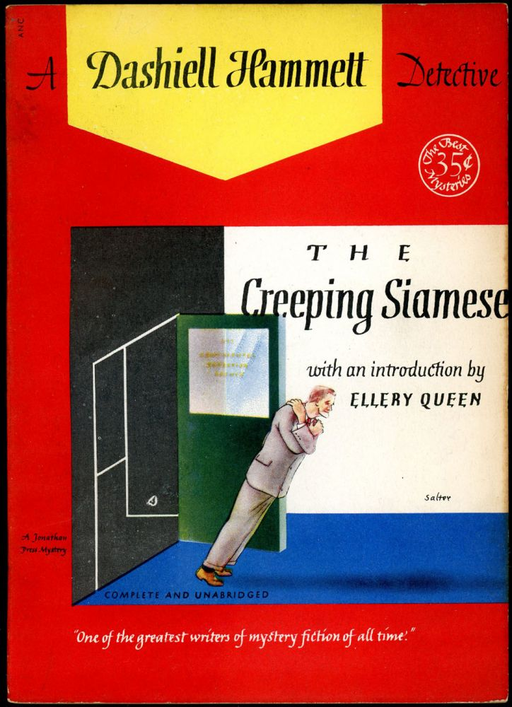 THE CREEPING SIAMESE. Dashiell Hammett.