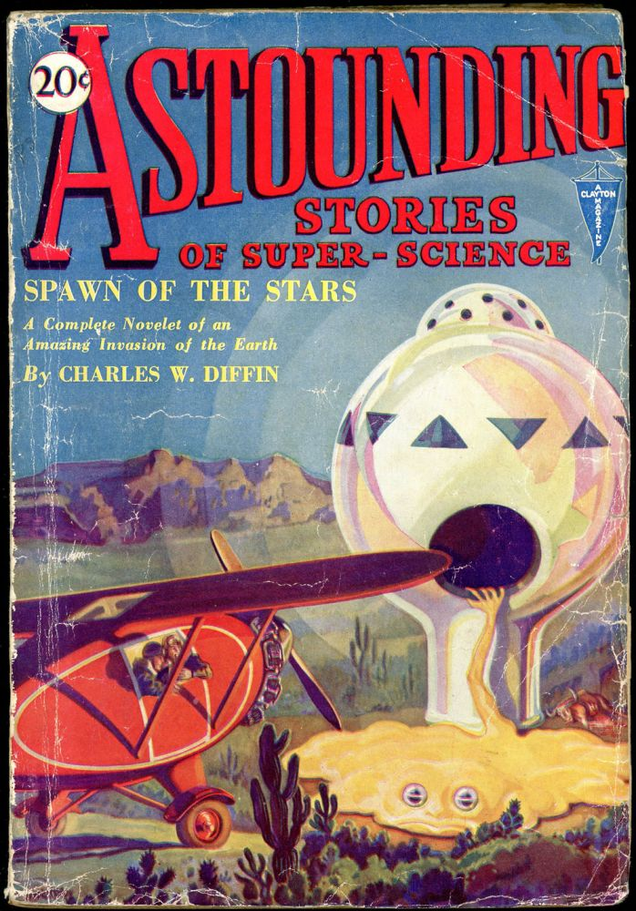 ASTOUNDING STORIES OF SUPER SCIENCE. 1930. . Harry Bates ASTOUNDING STORIES OF SUPER SCIENCE. February, Number 2 Volume 1.