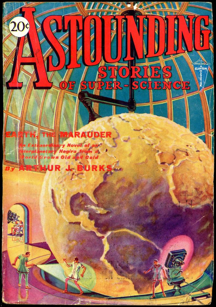 ASTOUNDING STORIES OF SUPER SCIENCE.