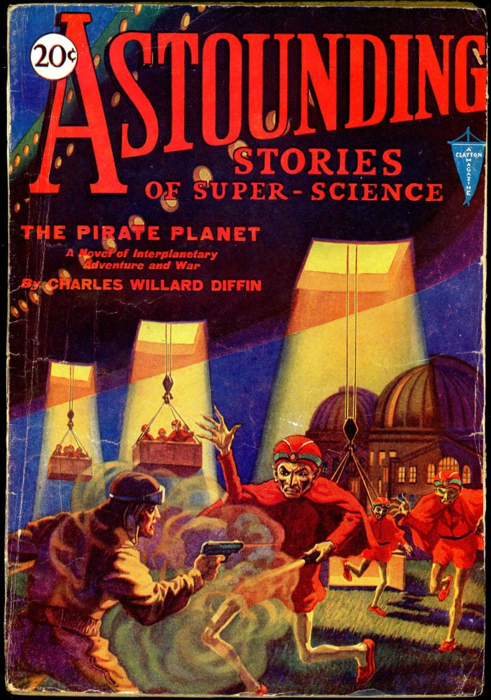 ASTOUNDING STORIES OF SUPER SCIENCE. 1930 ASTOUNDING STORIES OF SUPER SCIENCE. November, Number 2. Harry Bates Volume 4.