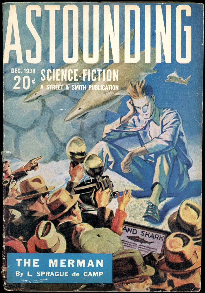 ASTOUNDING SCIENCE FICTION. ASTOUNDING SCIENCE FICTION. December 1938. . John W. Campbell Jr, No. 4 Volume 22.