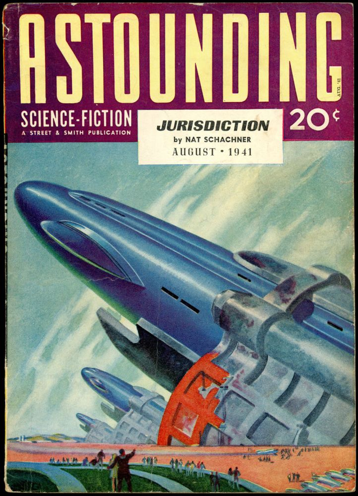 ASTOUNDING SCIENCE FICTION. ASTOUNDING SCIENCE FICTION. August 1941. . John W. Campbell Jr, Volume 27 No. 6.