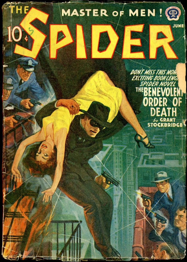 THE SPIDER. 1941 THE SPIDER. June, No. 1 Volume 24.